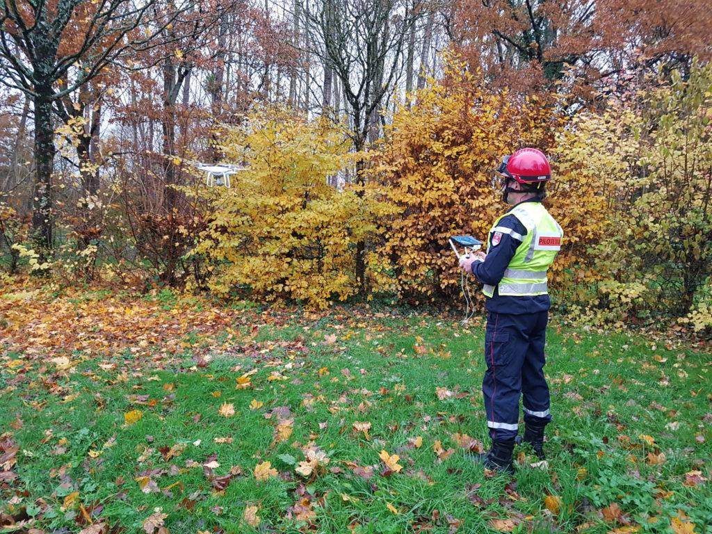 Technicien Bioneo pilote de drone
